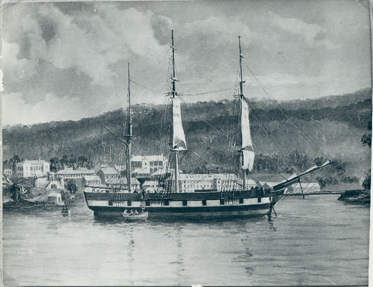 image of Lady Franklin at Port Arthur Historic Site c 1860