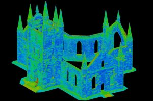 Point Cloud of Convict Church