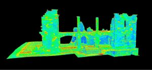 Point Cloud of Hospital